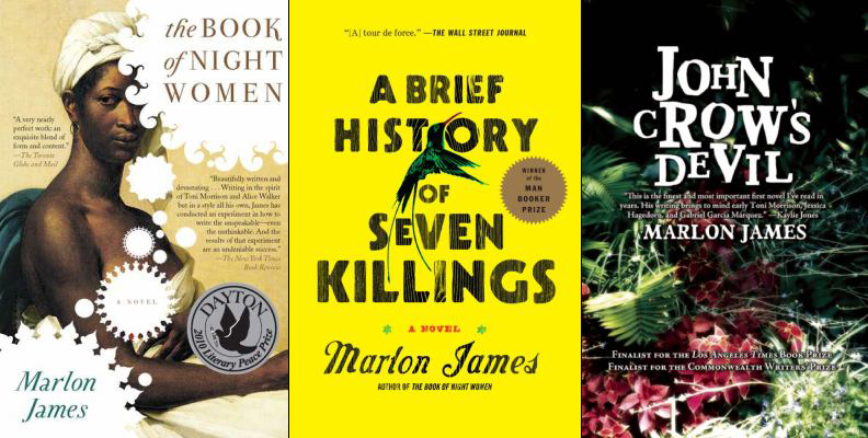 Marlon James Book Covers