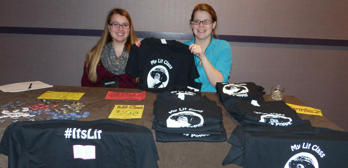 Chapter merchandise at the 2016 Convention