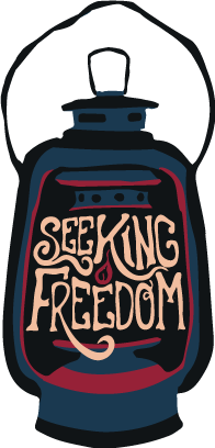 2018 Logo - Seeking Freedom