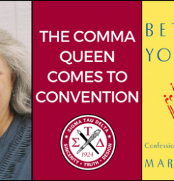 The Comma Queen Comes to Convention