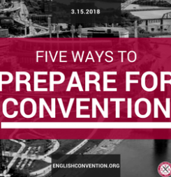 Five Ways to Prepare for Convention