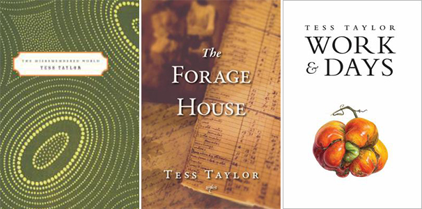 Tess Taylor Books