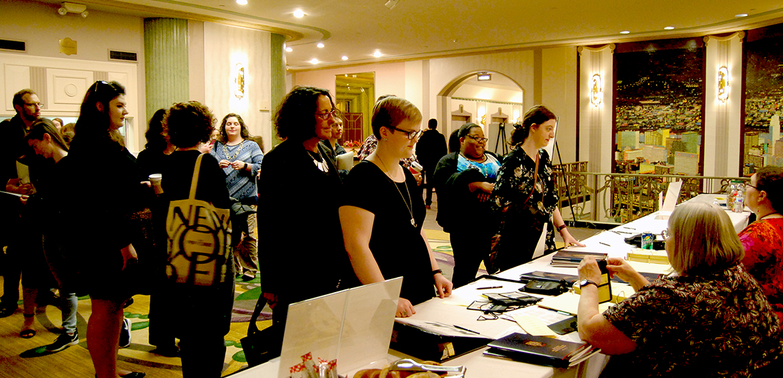 2018 Convention Registration Desk